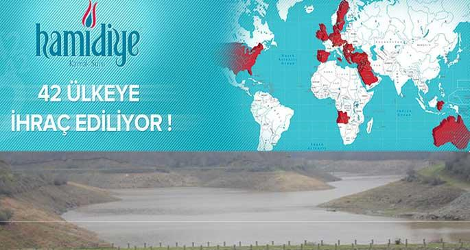 Su sıkıntısı çeken İstanbul\'un suyu 42 ülkeye satılıyor!