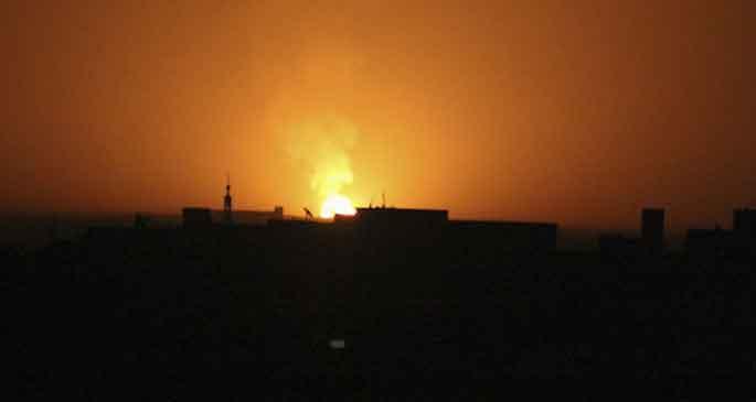 Suriye karanlığa büründü