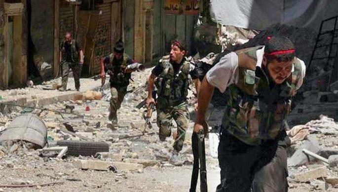 Suriye ordusu, Şaar doğal gaz sahasını yeniden ele geçirdi