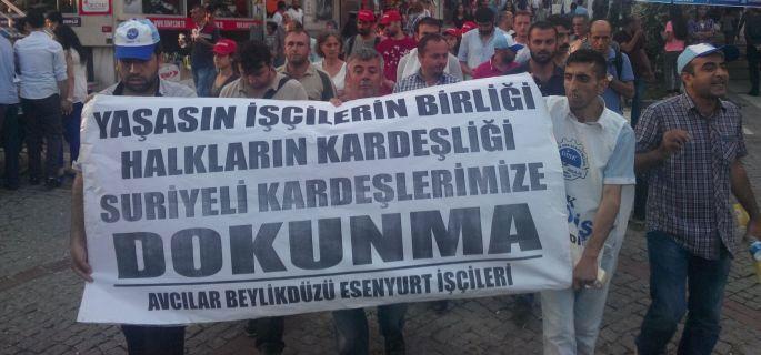 Suriyeli ve Türkiyeli işçilere çağrımızdır
