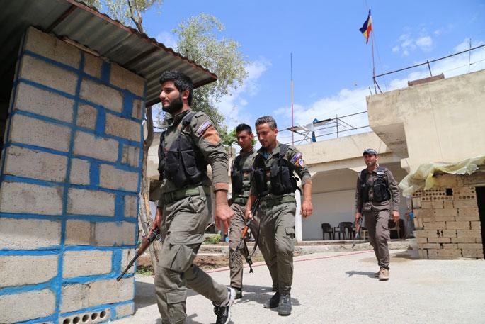 Süryaniler, Asurilerden bu yana ilk kez askeri alanda örgütleniyor