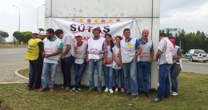 SÜTAŞ'ta jandarma direnişteki işçilere yine saldırdı