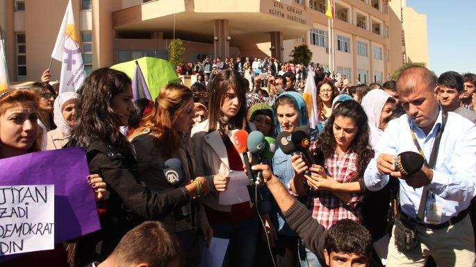 'Tacizi kanıtlayabilir misin' protestosu!