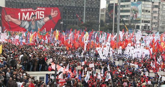 \'Taksim\'de 1 Mayıs yasağı Anayasaya aykırı\'
