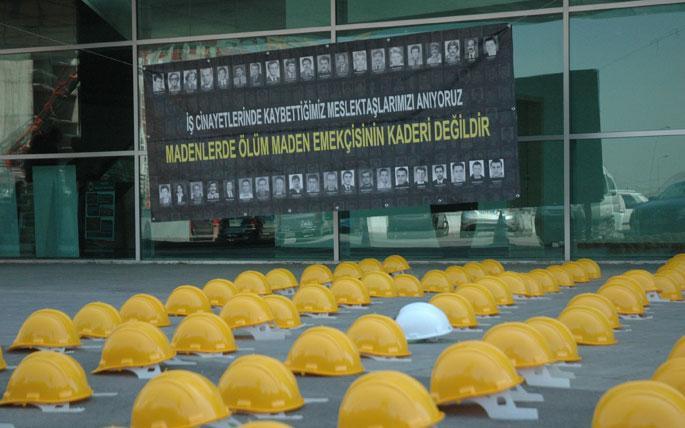 'Talana ve iş cinayetlerine karşı birlik'