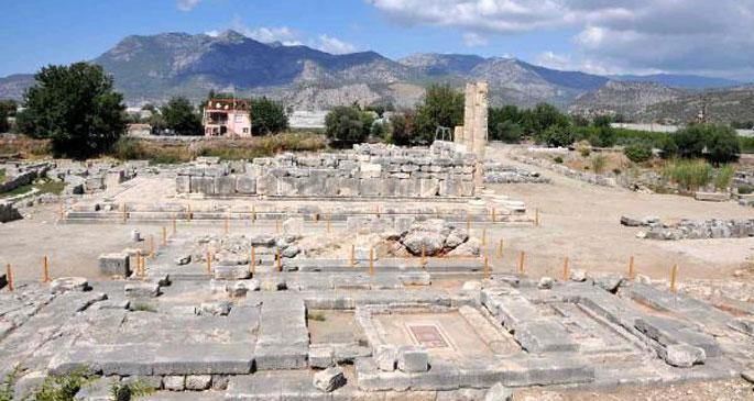 Tapınaklar şehrinde kazılar