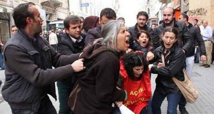 TAYAD\'lı 16 kişi gözaltına alındı