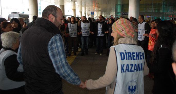 Teknik AŞ işçileri işe geri alındı