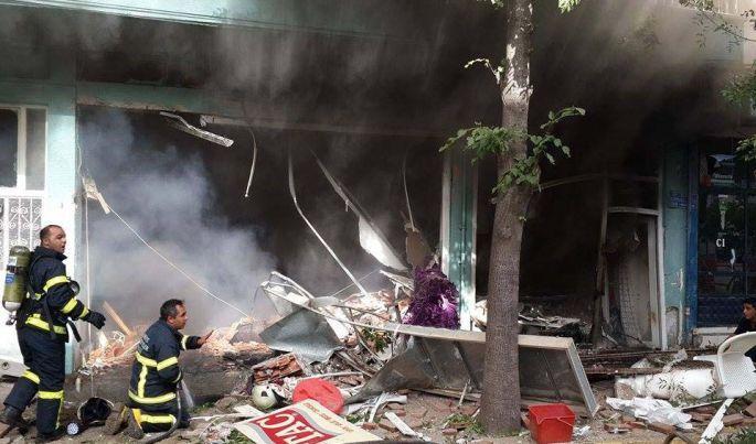 Tokat Erbaa'da patlama: 8 yaralı