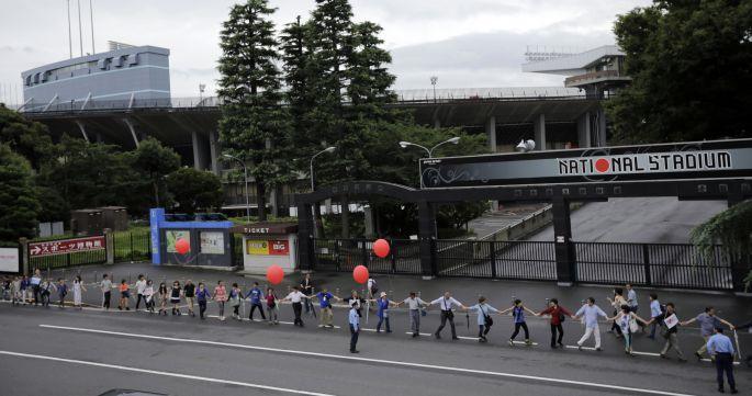 Tokyo 2020\'de stat protestoları büyüyor