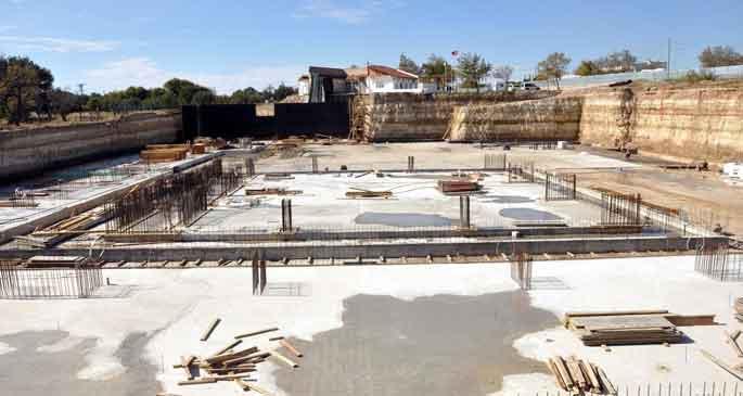 Truva Müzesi inşaatı yükseliyor