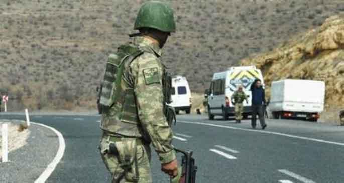 TSK: Nusaybin\'de askerlere ateş açıldı