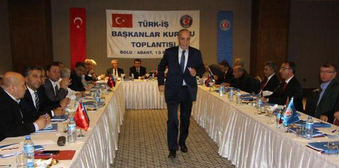 Türk-İş başkanından milliyetçi kışkırtma