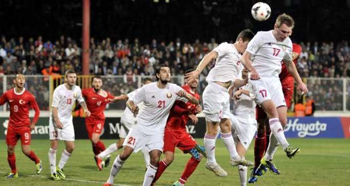 Türkiye:2 - Belarus:1