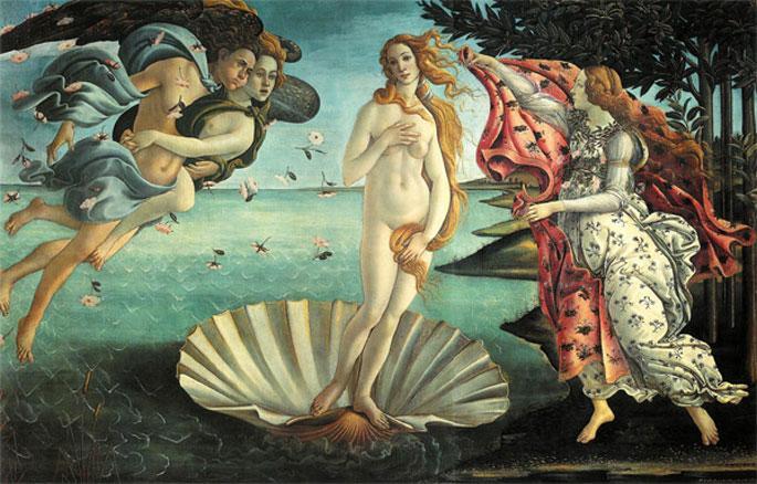tv8'den Venüs'ün Doğuşu'na sansür