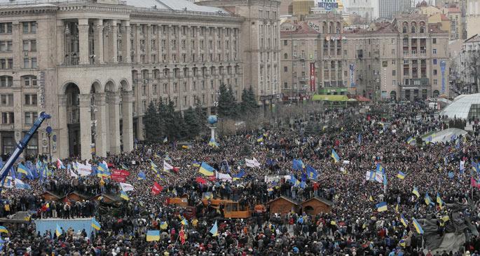 Ukrayna'da güven oylaması önergesi kabul edilmedi