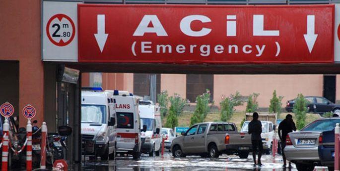 Urfa'da acil servis sistemi çalışmıyor