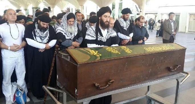 Üzmez\'in tabutunu Aczmendiler taşıdı