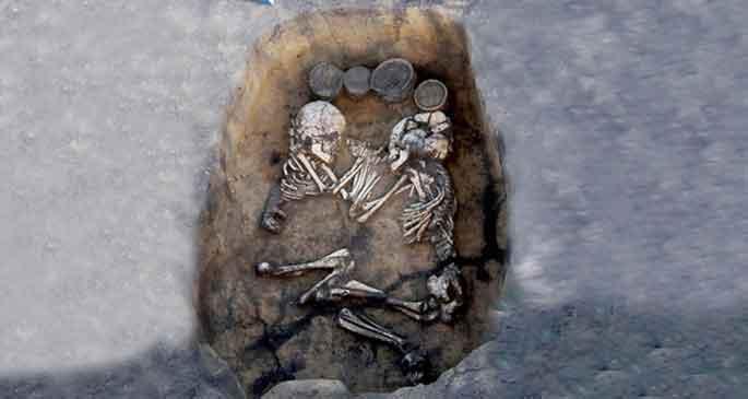 Vahşetin 3500 yıllık görüntüsü