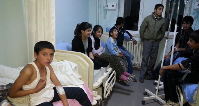 Van\'da çocuklara bozuk aşı yapıldı