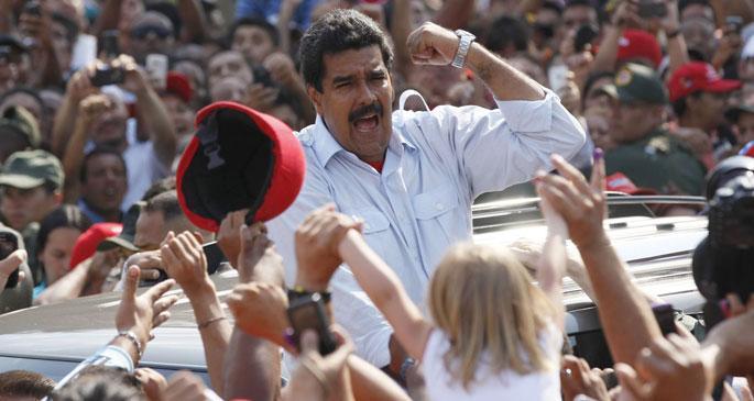 Venezuela Başkanı Maduro\