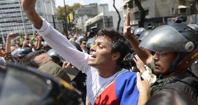 Venezuela çatışıyor; Ya ne olacaktı?