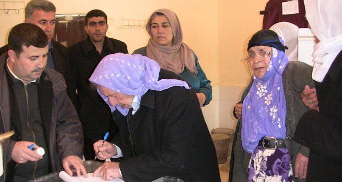 Viranşehir\'de BDP adayı oy kullanamadı