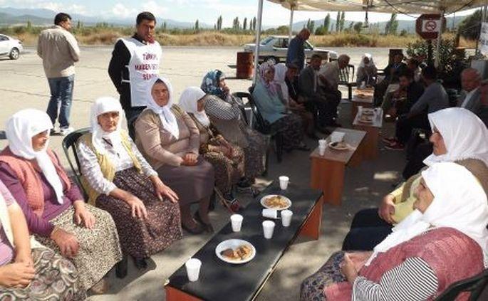 Yatağan direnişine köylülerden destek