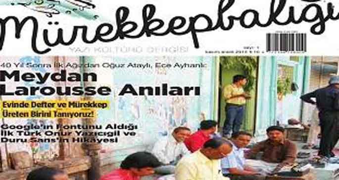 Yazı kültürü dergisi:  Mürekkepbalığı