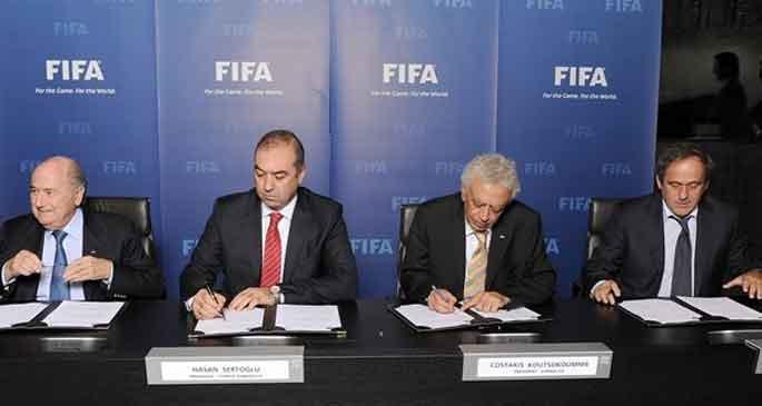 YKP: Kıbrıs'ta tarihi görev futbol kulüplerinin sırtında