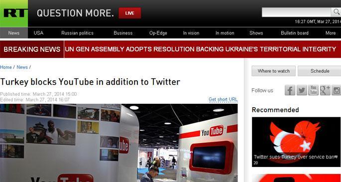 ABD: Twitter ve Youtube yasağı kaldırılmalı