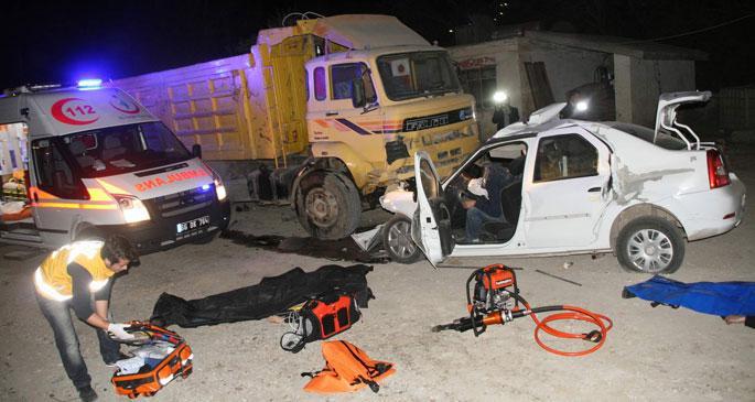 Yozgat\'ta trafik kazası: 4 ölü