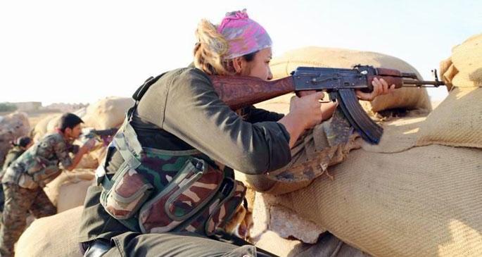 YPG, bir köyü IŞİD'den kurtardı