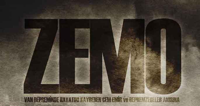 Zemo: Enkaz altında bir gazeteci