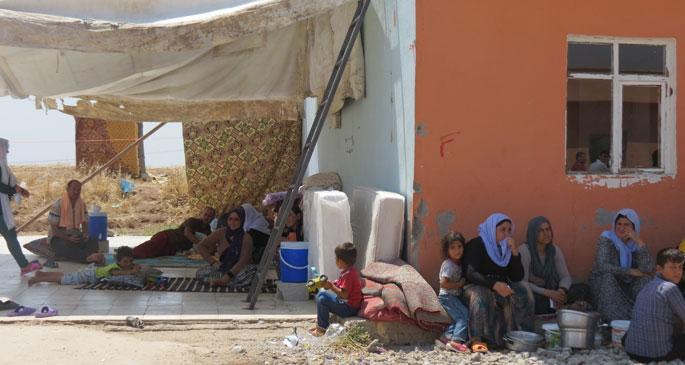 Êzidi köylerinde kadınların can pazarı