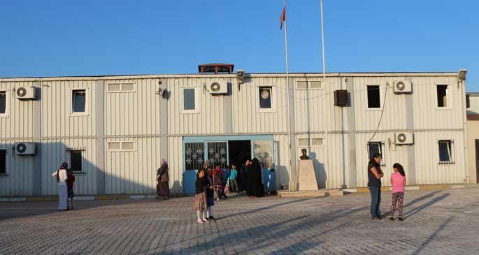 Avcı: 3738 öğrenci bu yıl da konteynerde eğitim görecek