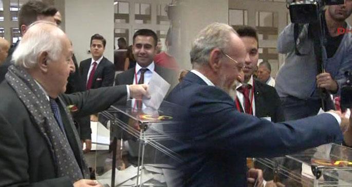 Galatasaray başkanını seçiyor... Duygun Yarsuvat önde
