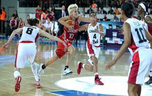 A Milli Kadın Basketbol Takımı çeyrek finali garantiledi