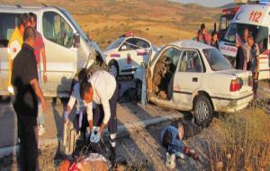 Antep'te trafik kazası: 3 ölü