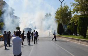 Aydın'da maden işçilerine polis saldırdı