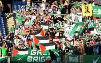 Celtic ve St.Johnstone'a Filistin cezası