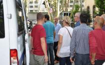 CHP binasını işgal eden BELTAŞ işçileri gözaltına alındı