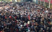 Cumartesi Anneleri 500. haftada Galatasaray Meydanı'nda