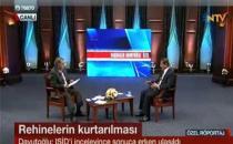 Davutoğlu, canlı yayında soruları yanıtladı