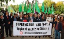 DİSK'ten İŞKUR işçilerine ziyaret