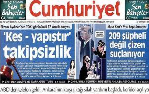 Erdoğan'ın karikatüre tahammülü yok