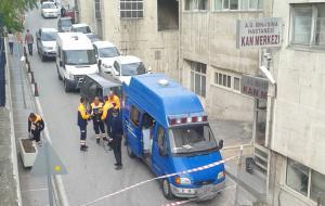 Hastanede tıbbi atık patlaması