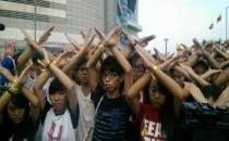 Hong Kong'da da protestolar 'Ulusal Gün'de de sürüyor