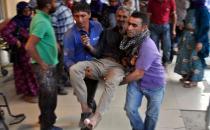 İşçileri taşıyan midibüs devrildi: 10 yaralı