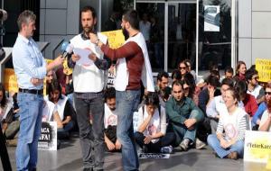 İTÜ Rektörlük önünde çadır eylemine destek